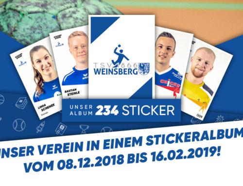 Wir werden StickerStars!