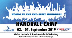 Handball Camp 2019