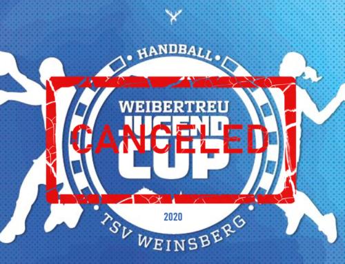 Wegen Corona: Weibertreu-Jugend-Cup abgesagt!