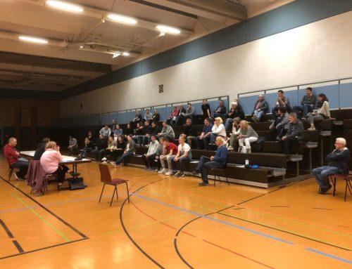 Mitgliederversammlung der Handballabteilung des TSV Weinsberg am 02.10.2020