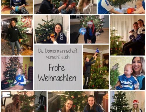 Weihnachtsgrüße von der Damenmannschaft