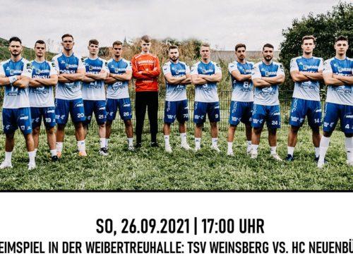 Vorbericht – BWOL: TSV Weinsberg – HC Neuenbürg